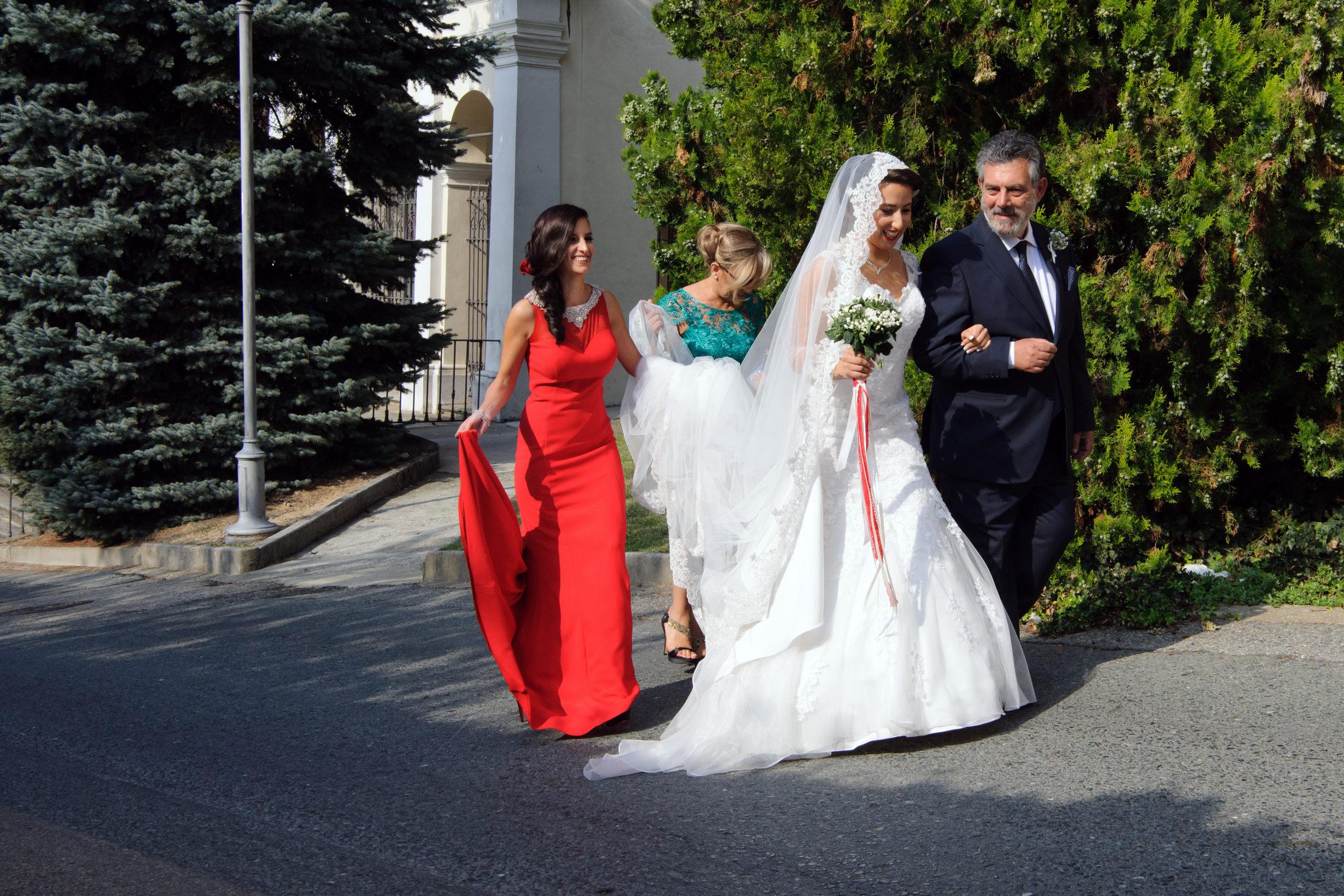 bride arrival - arrivo della sposa
