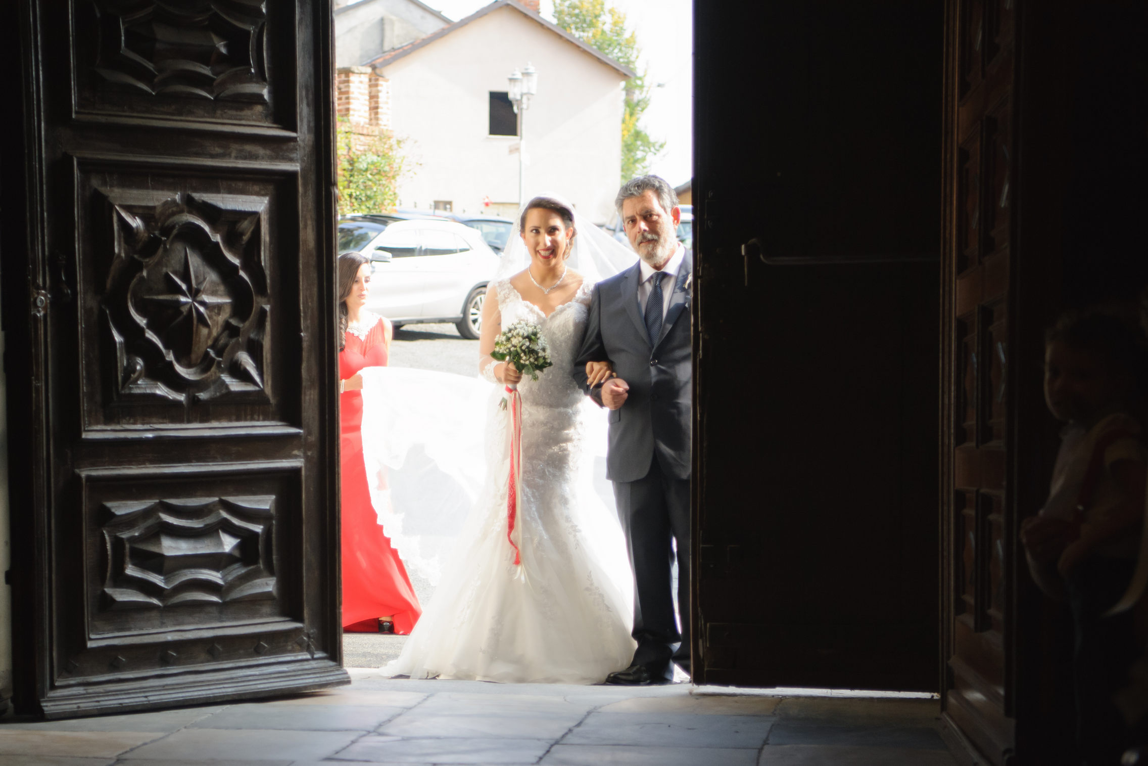 sposa alle porte - bride entrance