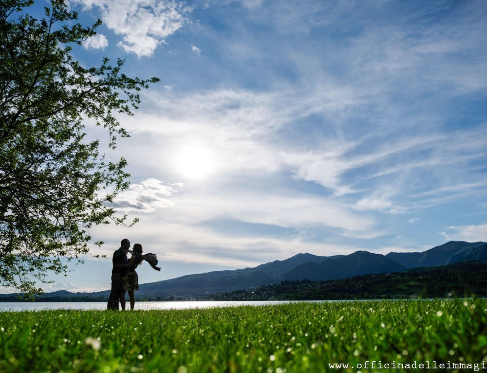 Prenozze Lago Pusiano – Engagement in Italy: shooting at Pusiano lake