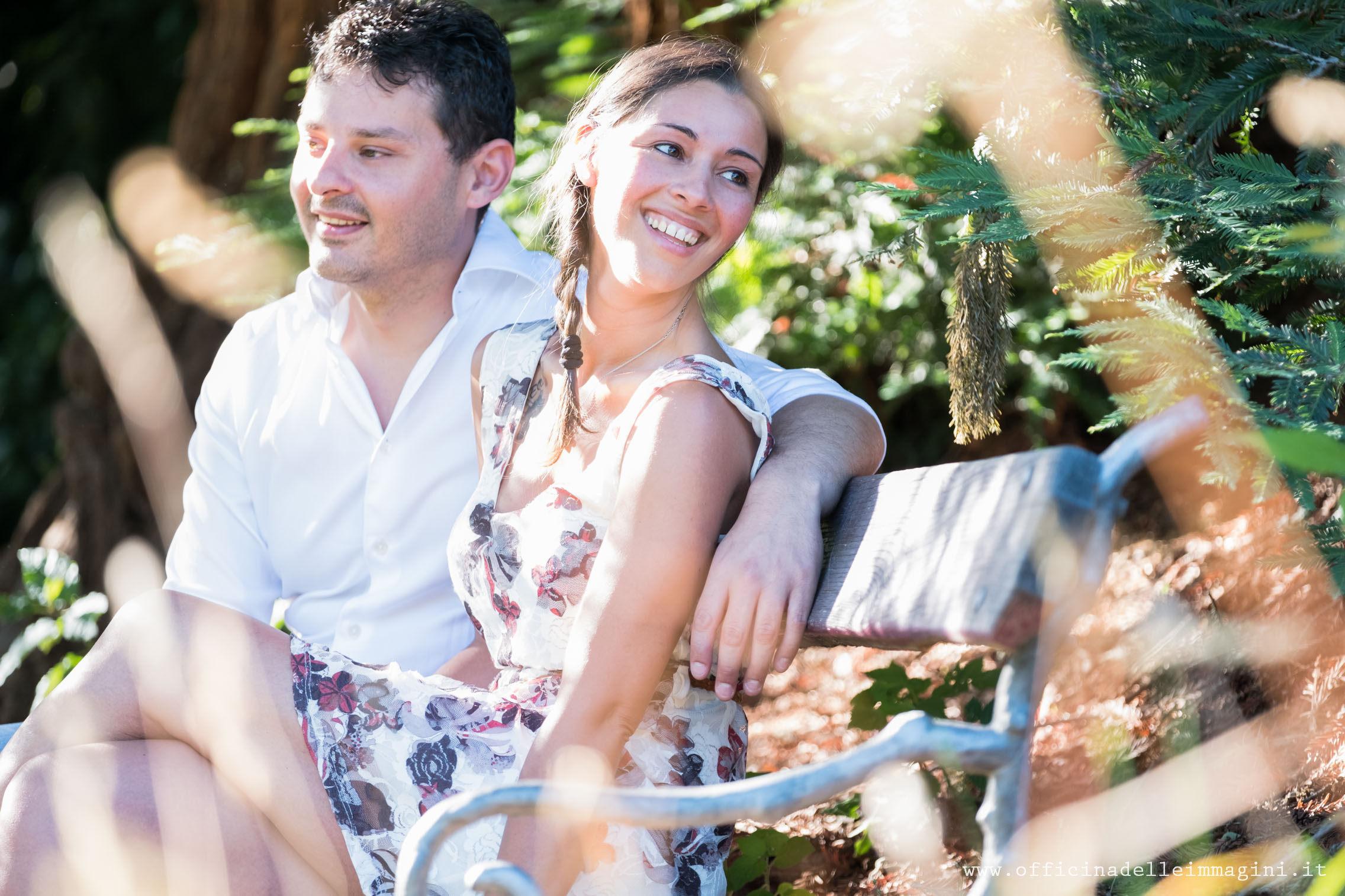prenozze Michela e Peter parco biellese della Burcina