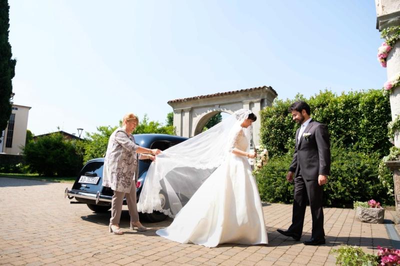 arrivo della sposa