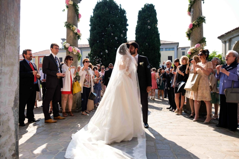uscita degli sposi