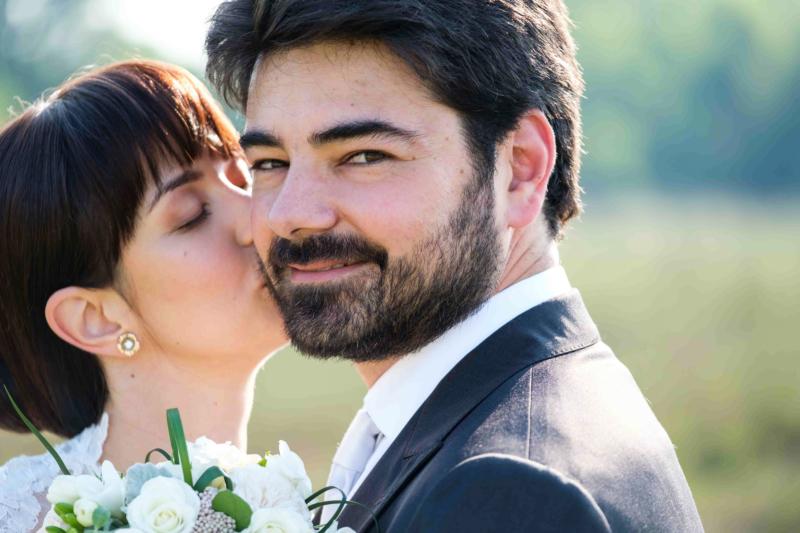 il bacio della sposa