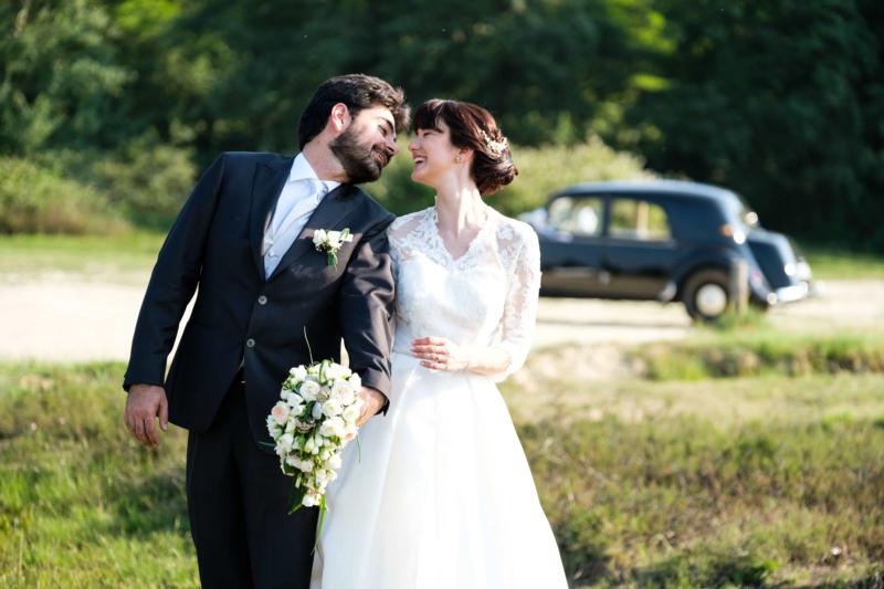 ritratto sposi in baraggia