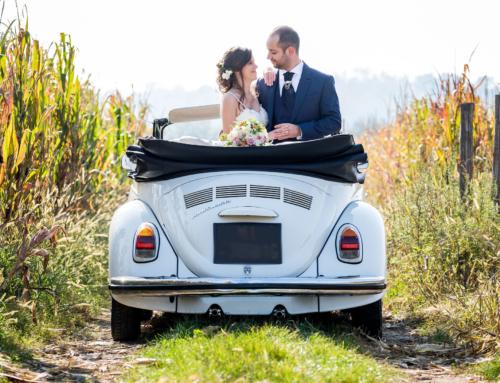 Matrimonio d'autunno con calde note estive per Elisa e Andrea