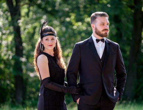 Come nel grande Gatsby: prenozze per Alessandro e Valentina